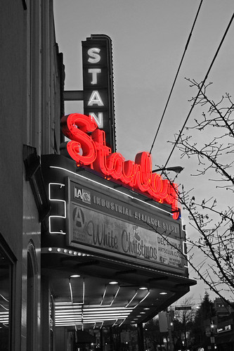 The Stanley Theatre sign