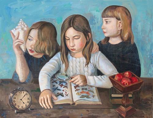 フリー写真素材, 芸術・アート, 絵画・版画, 少女・女の子,
