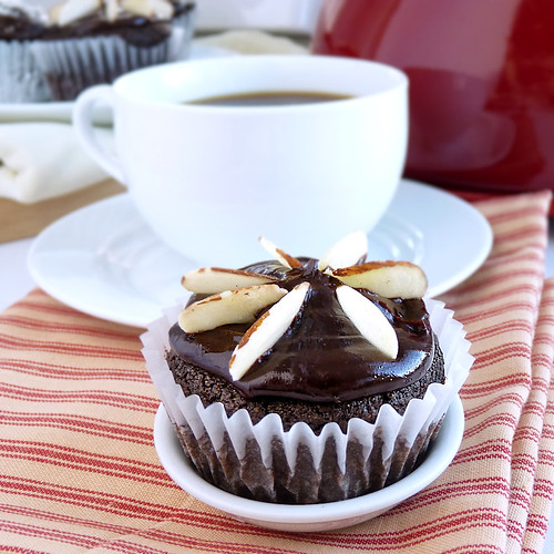 Chocolate-Almond Cupcakes