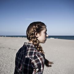 (Amanda E. Adams) Tags: ocean portrait sun beach girl sarah stairs canon bench model sand florida mark south tunnel palm antlers ii 5d jupiter braid