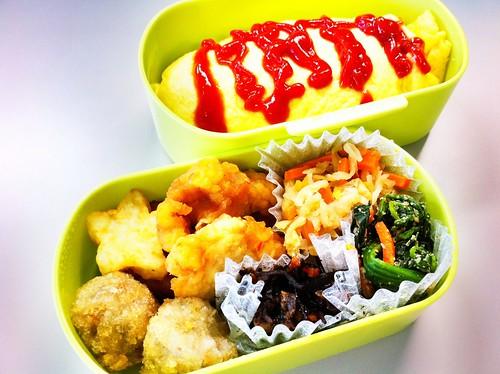 今日のお弁当 No.83 – オムライス