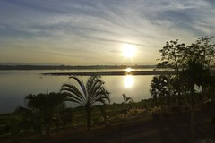 Sunrise in Laos
