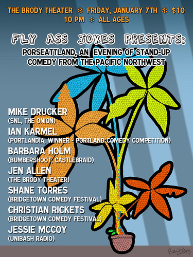 """Win Tickets: Two Evenings Of Stand Up Comedy @ Brody Theater 