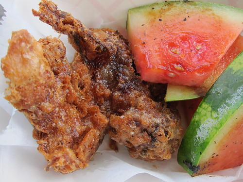 Willoughby Road: Fried Chicken & Watermelon