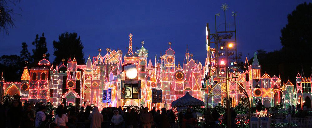 It's A Small World at Night