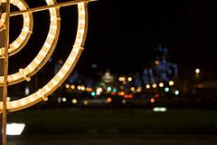 Luces de Navidad (SergioAguado) Tags: madrid puertadealcala navdad