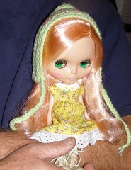 1/52 One Dolly A Week.... (daffodil.lane) Tags: moo blythe hattie mademoisellerosebud allymadethehat effiethedalmadethesweetdress