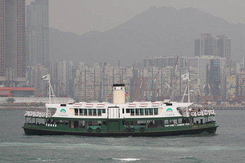 Star Ferry 'Shining Star' converted back to the earlier configuration, now used on tourist cruises