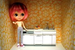 beginning of a kitchen