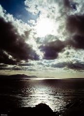 Punta Galea, Getxo, Bizkaia (Mr.Groka (Gorka Valencia)) Tags: espaa sol contraluz nubes es bizkaia diapositiva getxo puntagalea