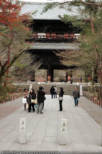 Nanzen-ji 南禅寺 - Sanmon Gate