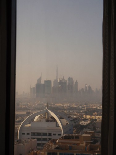 Dubai from Hotel Window