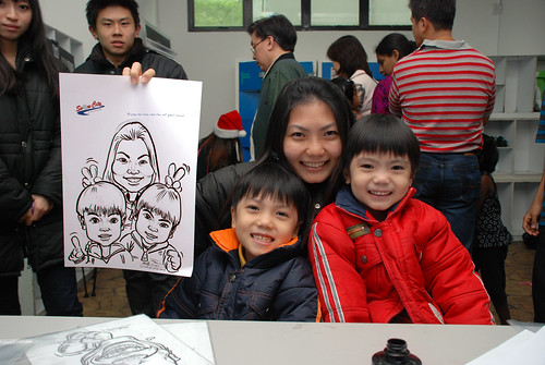 Caricature live sketching for Snow City - Day 7 - 8