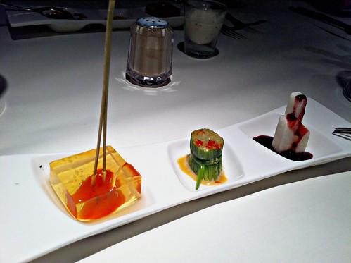 藍莓山藥+彩椒水蓮+蒟蒻蕃茄