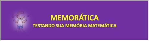 MEMORÁTICA - Testando sua memória matemática