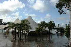 Brisbane floods 514 Drift restaurant (Ursula Skjonnemand) Tags: weather flood brisbane floods brisbaneflood