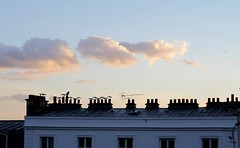 Montmartre, Paris, FR - 2011.01.09 (Blind_BlindBlind) Tags: paris france clouds digital canon 50mm rooftops montmartre dslr chimneys ef50mm14usm 18eme vanillasky toits 500d eos500d canoneos500d xviiieme eoskissx3 rebelt1i kissx3 eosrebelt1i