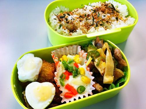今日のお弁当 No.87 – 鰹