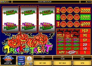Trick or Treat slot game online review