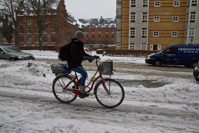 Copenhagen Winter Ride and Glide