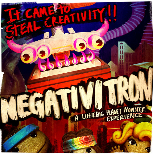 Negativitron from LittleBigPlanet 2