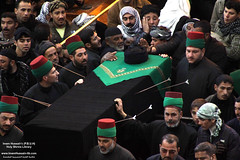 مراسيم التشييع الرمزي لنعش الإمام الحسن عليه السلام في يوم السابع من شهر صفر