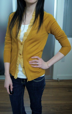 Petite XXS: Mustard Yellow Vs. Gold