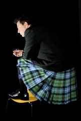 Self portrait (William Richardson) Tags: scotland kilt whisky standrews scotch