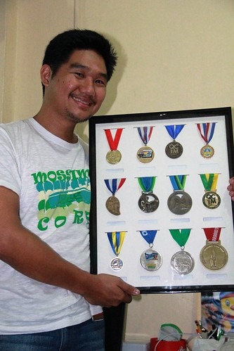 Where do you keep your finishers\' medals? - Takbo.ph