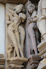 Khajuraho sculpture (hartjeff12) Tags: india temple sculptures khajuraho