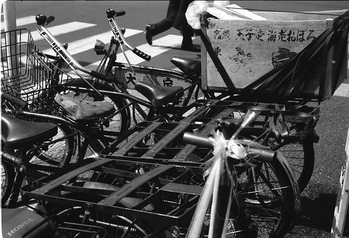 Tsukiji way on the cycle