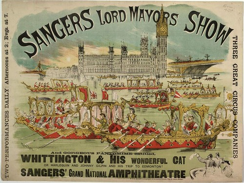 005-Sanger's Grand National Amphitheatre-Lambeth-The Lord Mayor's Show-c. 1885-Copyright © The British Library Board