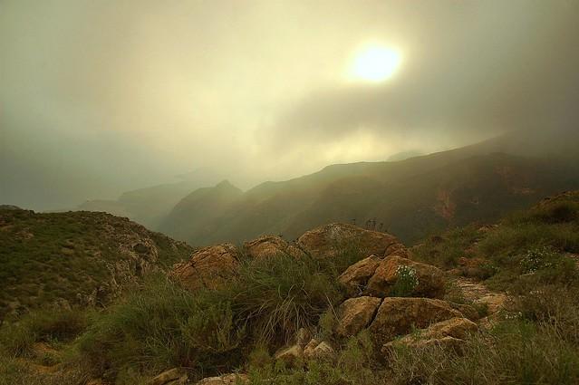 Nublado sobre cabo Tiñoso