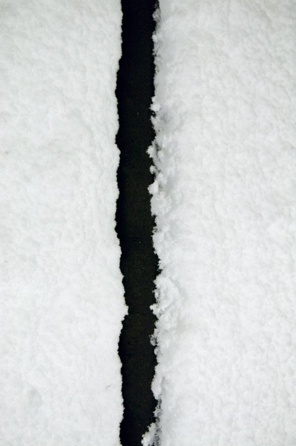 雪道|滋賀県野洲