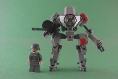 Ma.K Panzer X (_olafo) Tags: robot suit bot mech krieger maschinen hardsuit