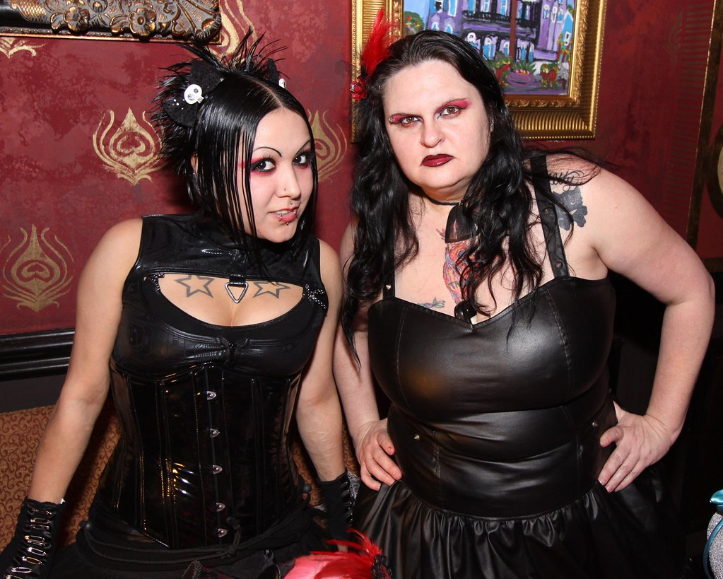 Fetish party pic her dark