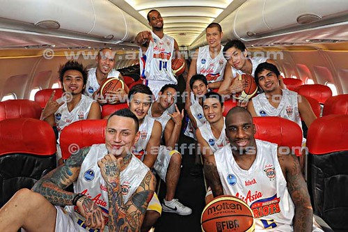 AirAsia Philiphines Patriots Basketball Team