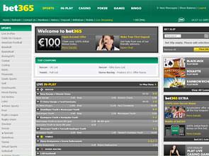 Bet365 Sportsbook Home