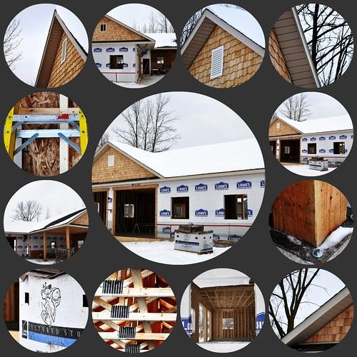 garage collage