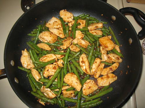 Spicy Green Beans & Chicken