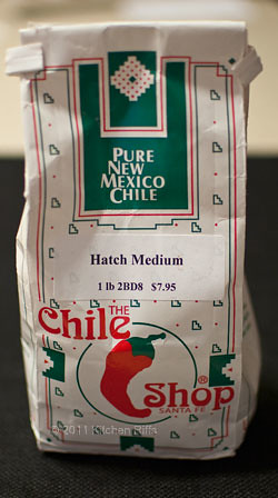 Package of Hatch Medium Chile Powder