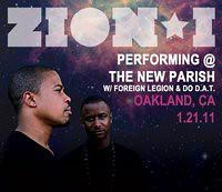 Zion I * Foreign Leigon * Do D.A.T 1/21/11