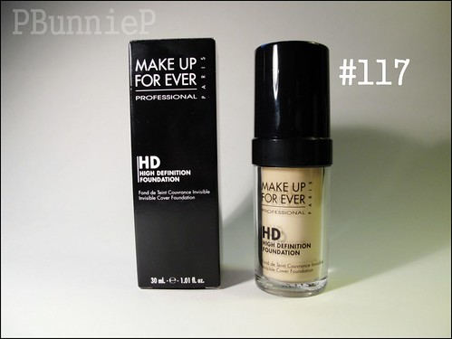 MakeupForever HD Foundation