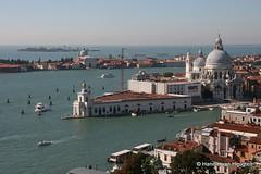 Venezia, Italy (Hannie van Heugten) Tags: from venice italy san view campanile punta marco van della venezia venetie itali hannie dogana heugten