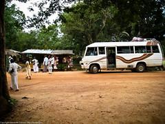 Автобус и паломники