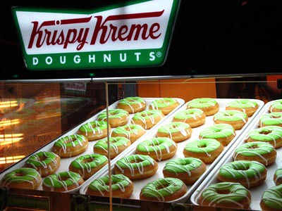 green hornets doughnuts