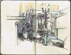 Sketchcrawl - Pearl District