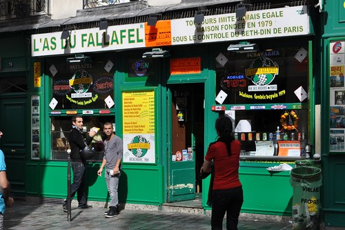 Falafel in Paris