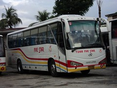 Five Star 7288 (Drift Kid / DK) Tags: man star mercedes benz golden long king five victory bee 805 hino liner 7288 grandecho