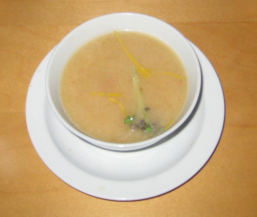 Undeserving picture of white miso soup